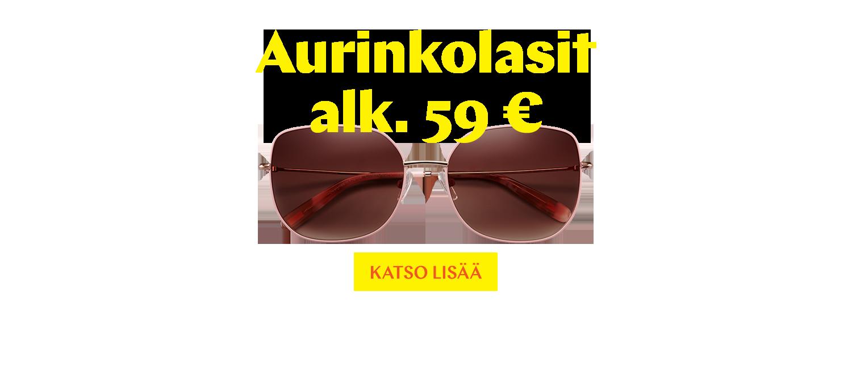 Aurinkolasit alk. 59 €