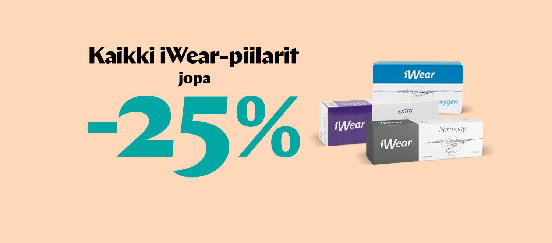 iWear piilolinssit ale